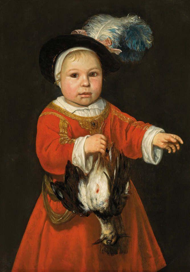 Aelbert Cuyp (1620–1691), Der kleine scheue Jäger, 1655, Öl auf Holz; 69 x 48,5 cm, Rechts Reste einer Signatur oder eines Monogramms mit Datum: A c[uyp] ...a 165(5?), Hohenbuchau Collection, Inv.-Nr. HB 70.