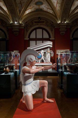Bunte Götter, Installationsansicht im KHM, Foto: Alexandra Matzner.