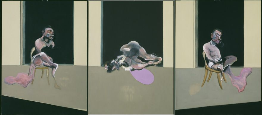 Francis Bacon, Triptychon August 1972, 1972 (London, Tate Gallery)