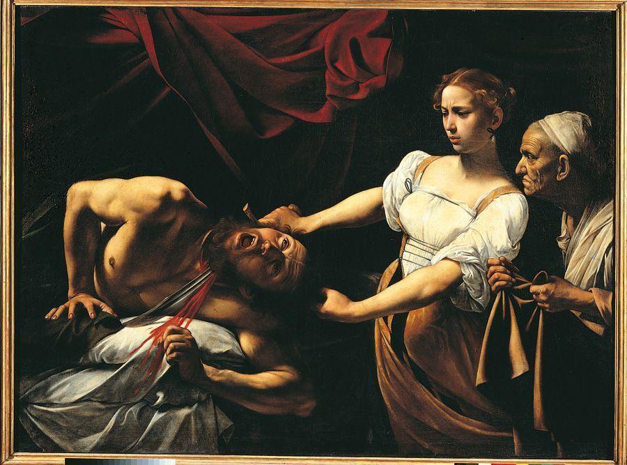 Caravaggio, Judith und Holofernes, 1597-1600 (Rom, Palazzo Barberini)