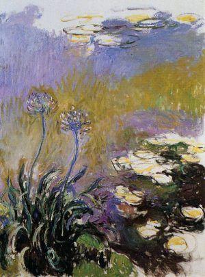 Claude Monet, Afrikanische Schmucklile, 1914–1917 (Musée Marmottan Monet, Paris)