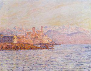 Claude Monet, Antibes, 1888, Öl auf Leinwand, 65 x 81 cm (Privatsammlung)