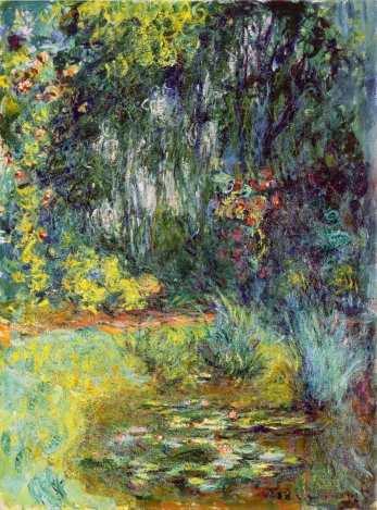 Claude Monet, Coin du Bassin aux nympheas [Teich mit Seerosen], 1918/19 (Genf)