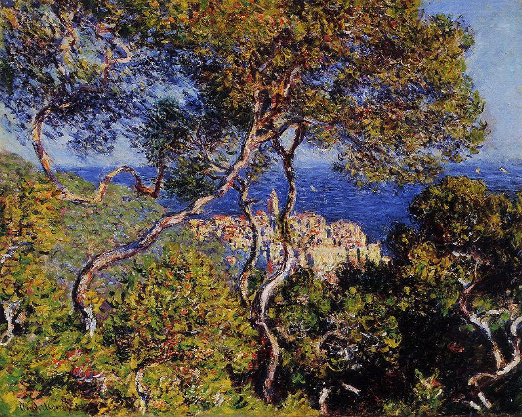 Claude Monet, Bordighera, 1884 (Art Institute of Chicago)