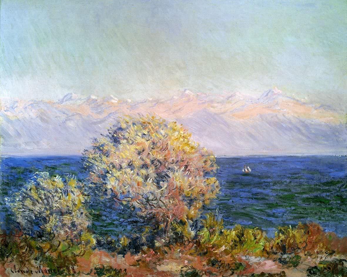 Claude Monet, Cap d'Antibes, Mistral, 1888, Öl auf Leinwand, 66 x 81,3 cm (Museum of Fine Arts Boston)