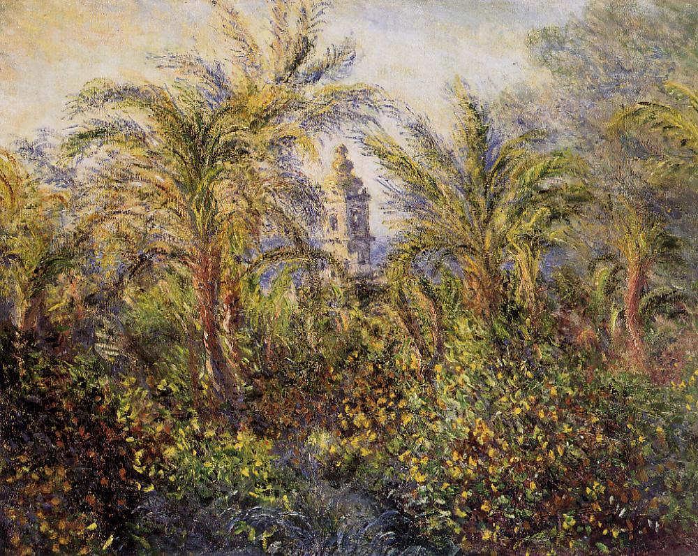 Claude Monet, Garten in Bordighera, Morgen Effekt, 1884 (Eremitage, St. Petersburg)