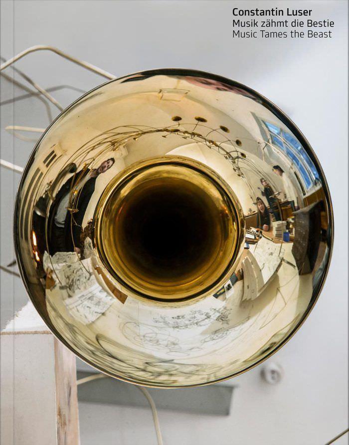 Constantin Luser: Musik zähmt die Bestie (Cover, Vfmk)