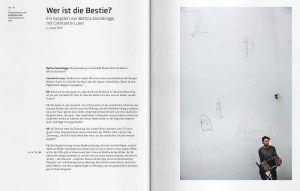 Constantin Luser: Musik zähmt die Bestie, Ausstellungskatalog Kunsthaus Graz, S. 30–31: Installationsansicht Kunsthalle Krems, 2014