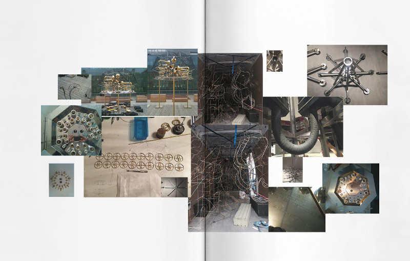 Constantin Luser: Musik zähmt die Bestie, Ausstellungskatalog Kunsthaus Graz, S. 50–51: Molekularorgel, 2010, Konstruktion
