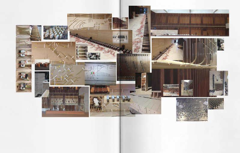 Constantin Luser: Musik zähmt die Bestie, Ausstellungskatalog Kunsthaus Graz, S. 28–29: Tangosaurus, 2013, Konstruktion