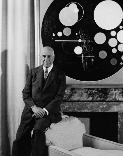 Solomon R. Guggenheim im Plaza Hotel, New York, um 1937, Courtesy of the Solomon R.Guggenheim Foundation, New York