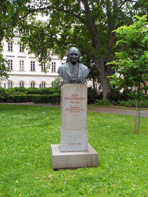 Josef Madersperger von Carl Philip (1872-1949), 1933, Foto: Alexandra Matzner.