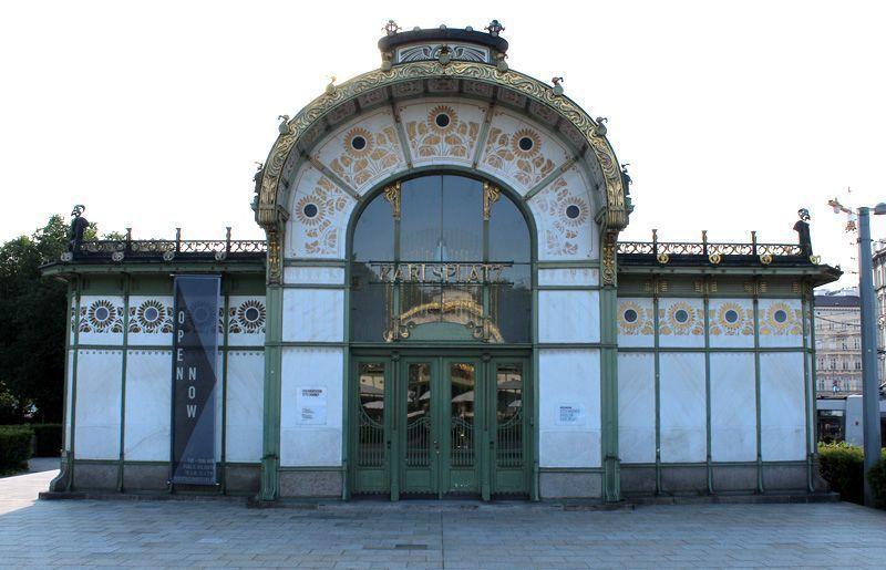 Otto Wagner, Stadtbahnstation Karlsplatz, 1898-1899, Foto: Alexandra Matzner.