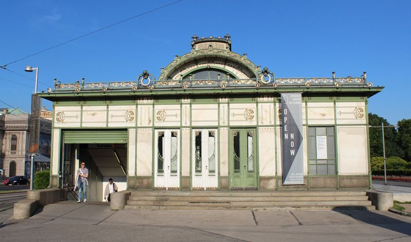 Otto Wagner Pavillon, 1898-1899, Foto: Alexandra Matzner.
