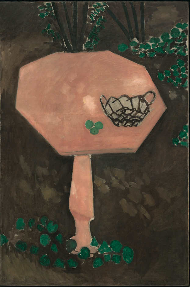 Henri Matisse, Der Rosenmarmor Tisch, Issy-les-Moulineaux, Frühling-Sommer 1917, Öl auf Leinwand, 146 x 97 cm, The Museum of Modern Art, New York. Mrs. Simon Guggenheim Fund, 1956, Photo © 2015. Digital image, The Museum of Modern Art, New York/Scala, Florence / © Succession H. Matisse/ DACS 2015.