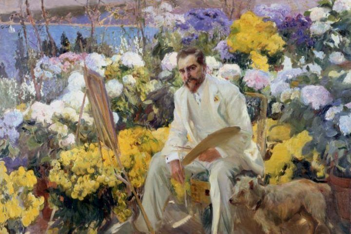 Perfekt Joaquin Sorolla, Louis Comfort Tiffany, 1911, Öl Auf Leinwand, 150 X 225.5