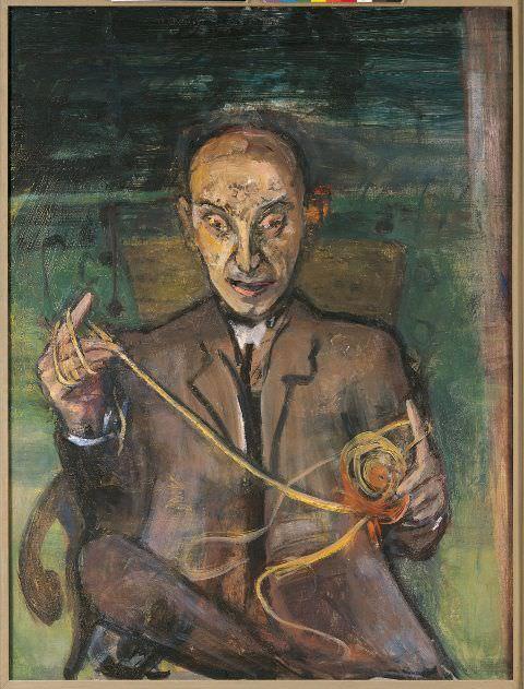 Marie-Louise von Motesiczky, Der Psychoanalytiker, London 1962.