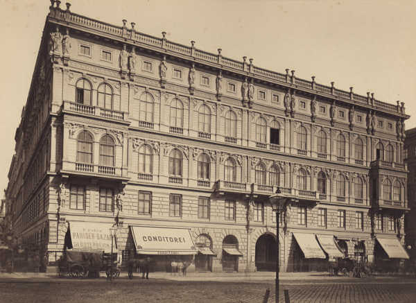 Palais Todesco, Kärntner Straße 51, um 1880, Inv. Nr. 4048 © Jüdisches Museum Wien.