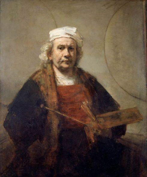 Rembrandt, Selbstbildnis mit zwei Kreisen, um 1665-9, Öl auf Leinwand, 114.3 x 94 cm, Kenwood House, The Iveagh Bequest, English Heritage, London 57 © English Heritage.