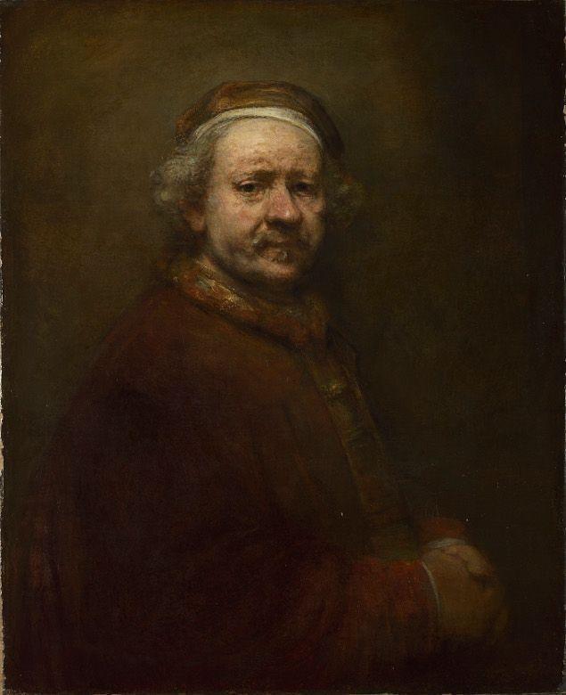 Rembrandt, Selbstbildnis im Alter von 63, 1669, Öl auf Leinwand, 86 x 70.5 cm © The National Gallery, London.