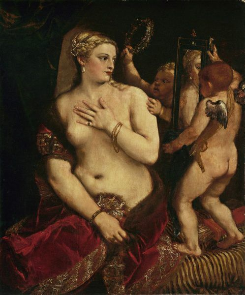 Tizian, Venus vor dem Spiegel © National Gallery of Art, Andrew W. Mellon Collection, Washington.