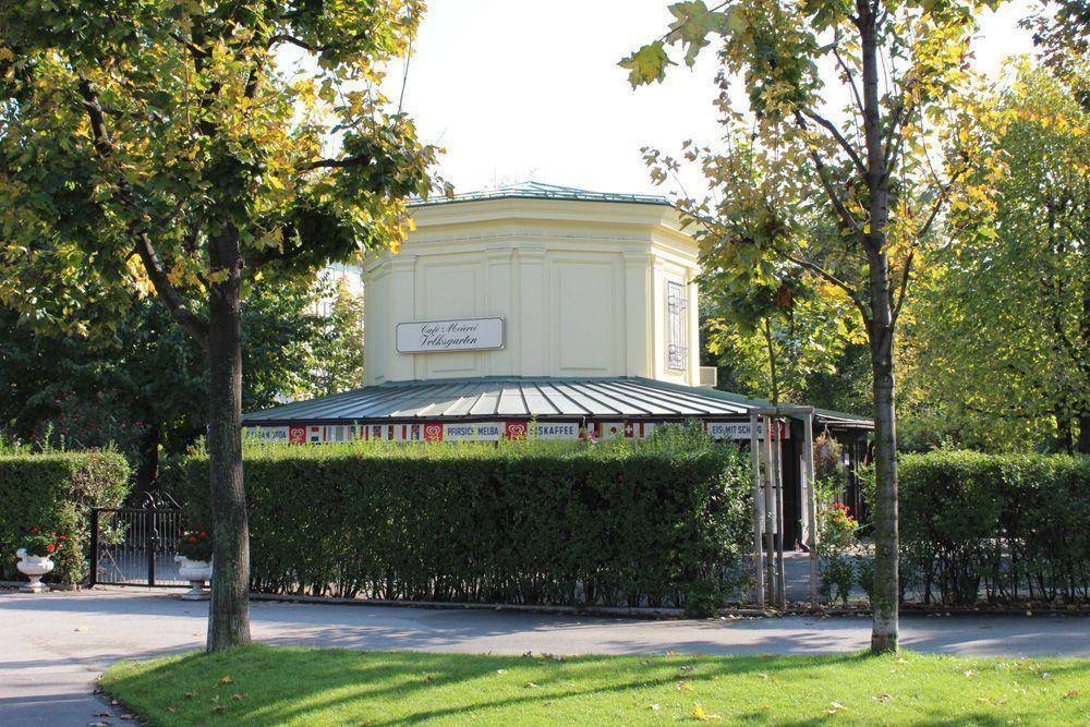 Wiener Volksgarten, Milchtrinkhalle © Foto: Alexandra Matzner.