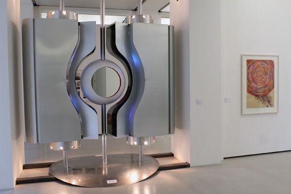 """Pertz, Klinkan, Ausstellungsansicht """"Die 70er Jahre"""" im MUSA 2013, Foto: Alexandra Matzner."""