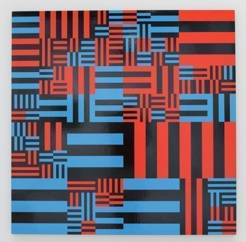 Kurt Ingerl, Struktur, 1978, Foto: Alexandra Matzner.