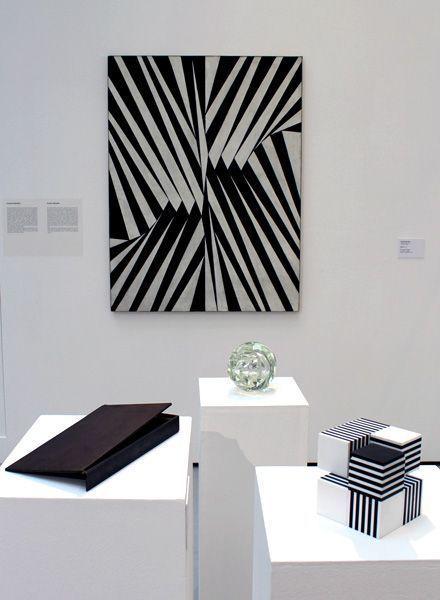 """Joos, Ausstellungsansicht """"Die 70er Jahre"""" im MUSA 2013, Foto: Alexandra Matzner."""