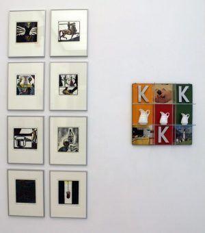 """Kronheim, Hendrich-Hassmann, Ausstellungsansicht """"Die 70er Jahre"""" im MUSA 2013, Foto: Alexandra Matzner."""