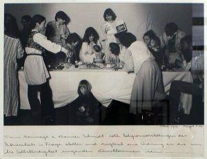 Margot Pilz, Das letzte Abendmahl. Eine Hommage an Kremser Schmidt, 1979, Foto: Alexandra Matzner.