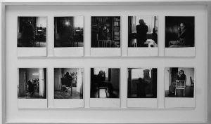 Cora Pongracz, Ernst Jandl I-X, 1978, Foto: Alexandra Matzner.