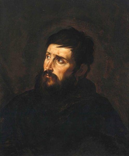 Jusepe de Ribera, Brustbild eines Mannes, um 1613-1615 (© Staatliche Museen zu Berlin, Gemäldegalerie), Foto: Jörg P. Anders