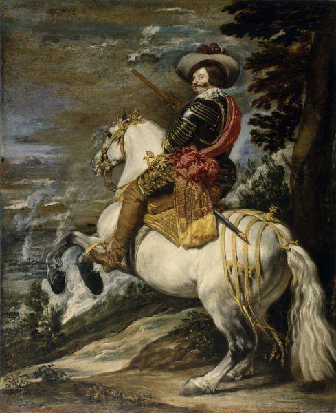 Diego Rodríguez de Silva y Velázquez, Gaspar de Guzmán, Conde Duque de Olivares, um 1635, Öl auf Leinwand (The Metropolitan Museum, New York)