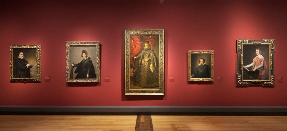 Diego Velázquez, Porträts: El Siglo de Oro. Die Ära Velázquez: Ausstellungsansicht, © Staatliche Museen zu Berlin, Gemäldegalerie / Achim Kleuker.