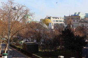 Blick auf die Secessionskuppel Wien, Foto: Alexandra Matzner.
