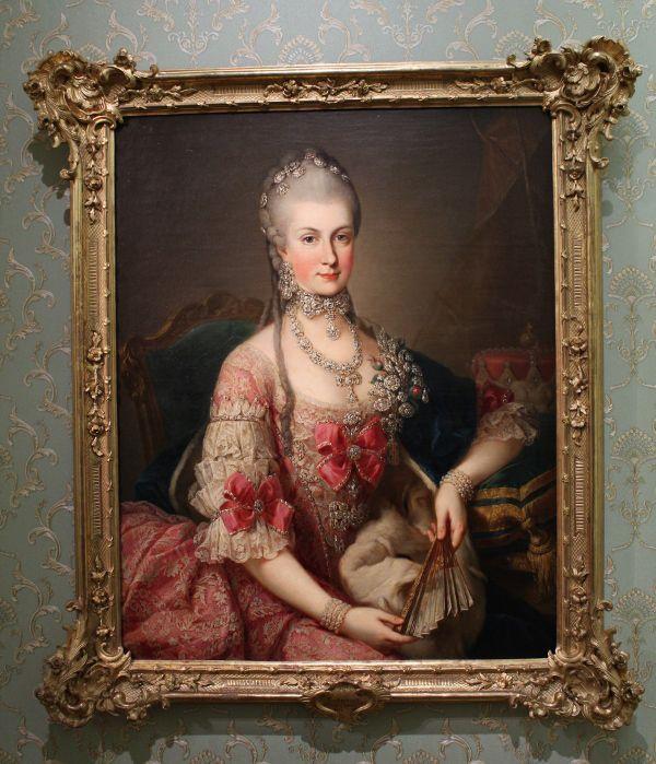 Meister der Erzherzoginnenporträts, Erzherzogin Marie Christine, um 1765, Kunsthistorisches Museum, Wien, Foto: Alexandra Matzner.