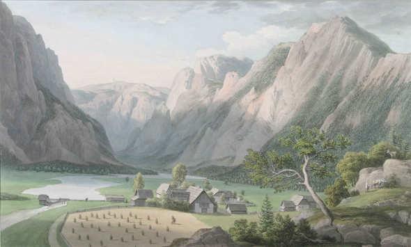 Jakob Gauermann, Brunn bei Wildalpen, 1812, Privatbesitz.
