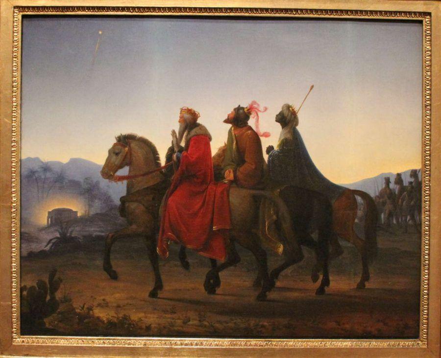 Leopold Kupelwieser, Die Heiligen drei Könige, 1825, Foto: Alexandra Matzner © Fürstliche Sammlungen LIechtenstein