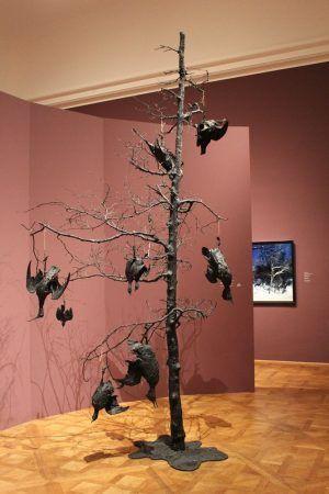 Installationsansicht mit Marc Dion