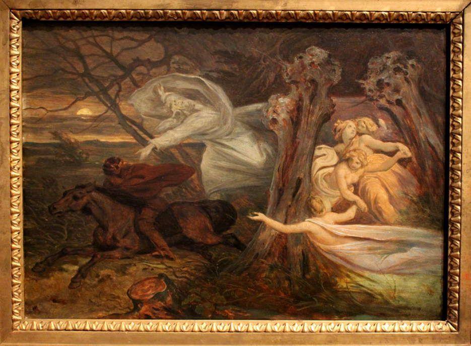 Moritz von Schwind, Der Erlkönig, um 1830, Foto: Alexandra Matzner © Belvedere