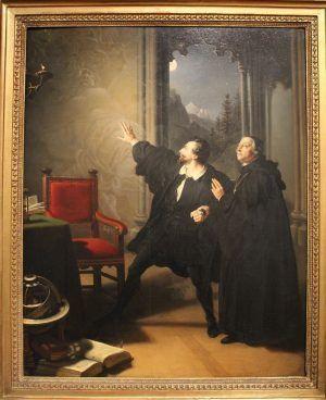 Johann Peter Krafft, Manfreds Sterbestunde, 1825, Foto: Alexandra Matzner © Belvedere
