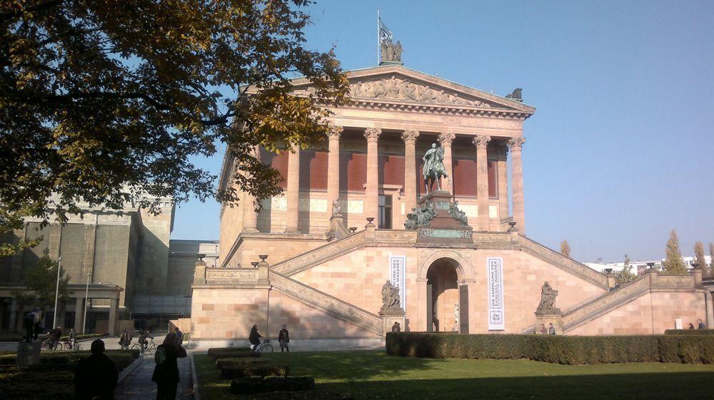 Berlin, Neue Nationalgalerie, Foto: Alexandra Matzner