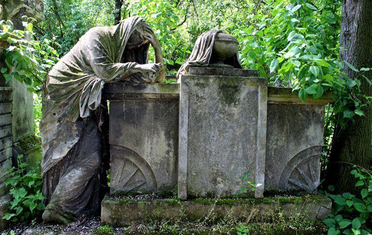 Wien, Friedhof von St. Marx, anonymes Grab, Foto: Alexandra Matzner.