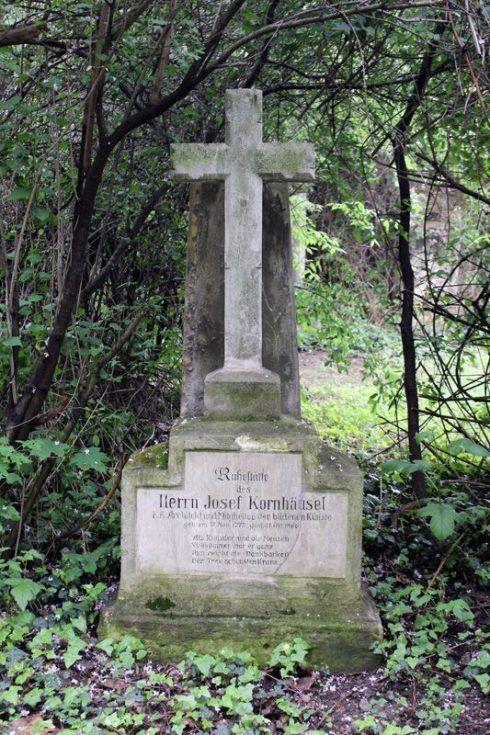 Grabmal von Joseph Kornhäusel, Wien, Friedhof von St. Marx, Foto: Alexandra Matzner.