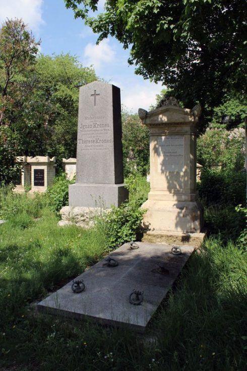 Grabmal von Therese Krones, Wien, Friedhof von St. Marx, Foto: Alexandra Matzner.