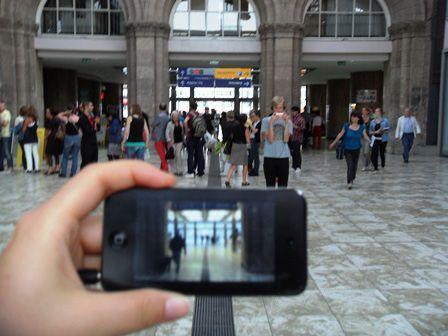 Janet Cardiff & George Bures Miller, Alter Bahnhof - Video Walk (Geschichte trifft Ort), dOCUMENTA (13) 2012, Installationsfoto: Alexandra Matzner.