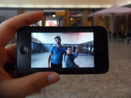 Janet Cardiff & George Bures Miller, Alter Bahnhof - Video Walk, 2012, dOCUMENTA (13) 2012, Foto: Alexandra Matzner.
