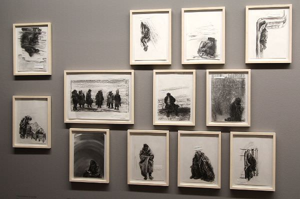 Olga Chernysheva, Untiteled, 2012, Ausstellungsansicht: Alexandra Matzner.