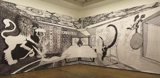 Aleksandra Mir, 2015, Ausstellungsansicht: Alexandra Matzner.